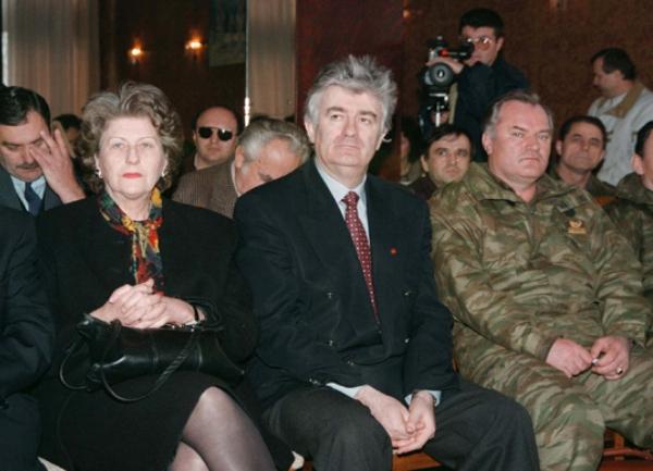 Radovan Karadžić, Ratko Mladić i Biljana Plavšić
