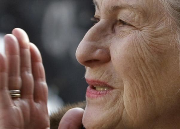 Biljana Plavšić nakon izlaska iz zatvora