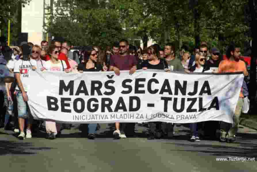 Tuzlanska kapija - marš (Beograd - Tuzla)