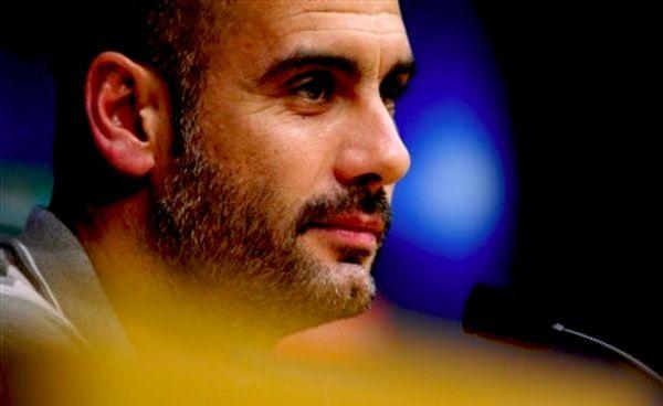 Pep Guardiola; foto: AP