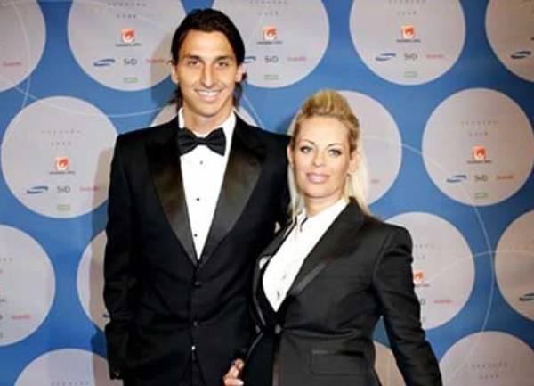 zlatan ibrahimović sa suprugom Helenom