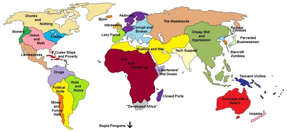Brazil Karta Svijeta Karta