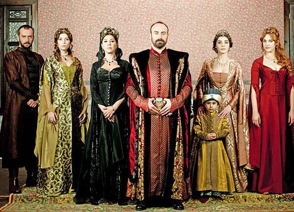 sulejman velicanstveni serija
