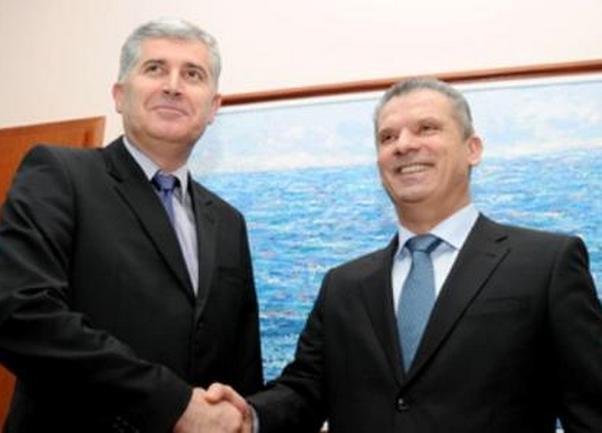 Fahrudin Radončić i Dragan Čović