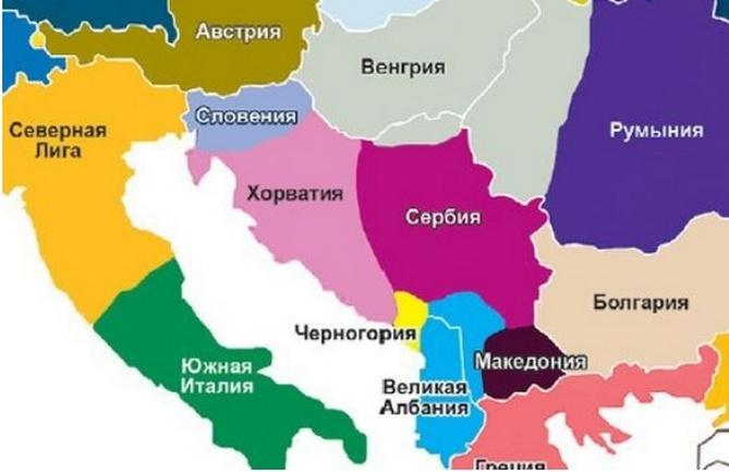 karta evrope 2035 Do 2035. Bosna i Hercegovina će biti podijeljena između Srbije i  karta evrope 2035
