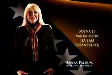 Hanka Paldum u kampanji 'Ponosni na domovinu'