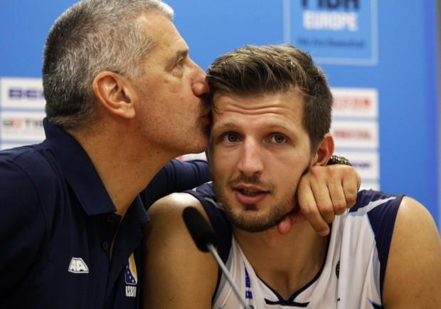 Aleksandar Petrović i Mirza Taletović/Foto: Anadolija