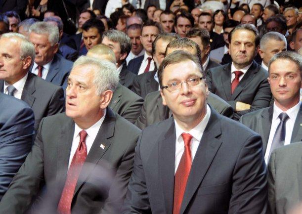 Tomislav Nikolić i Aleksandar Vučić/ Foto: Anadolija