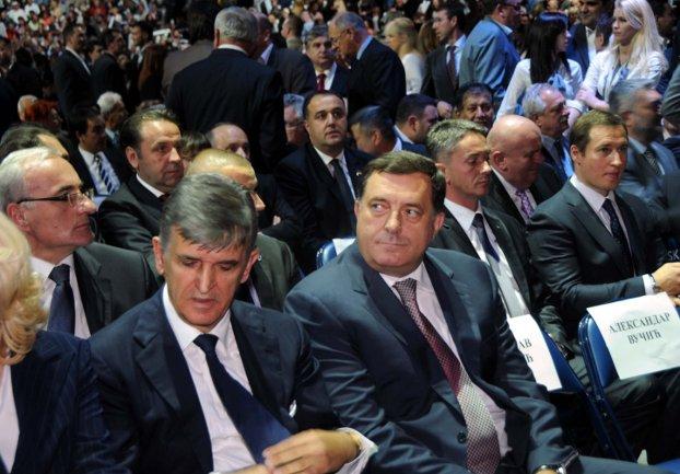 Dodik u Beogradu na proslavi godišnjice SNS-a/ Foto: Anadolija
