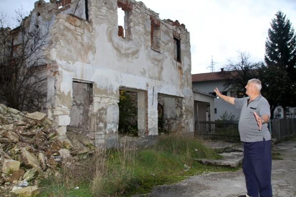 Porušene kuće u Bugojnu/Foto:AA