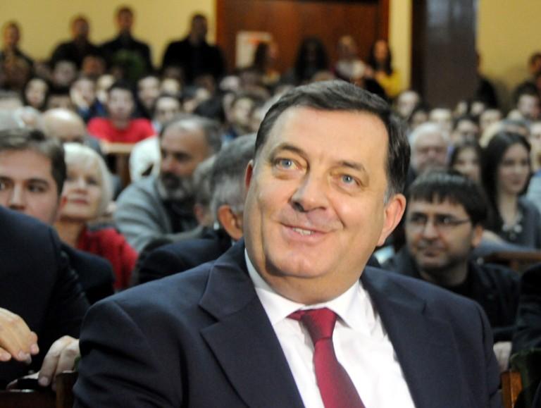 Milorad Dodik na Pravnom fakultetu u Beogradu/Foto: Anadolija