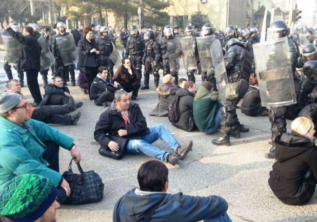 protesti u Tuzli/ Foto: RSE
