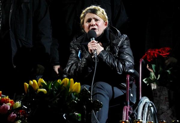Julija Timošenko nakon zatvora/Foto: AA