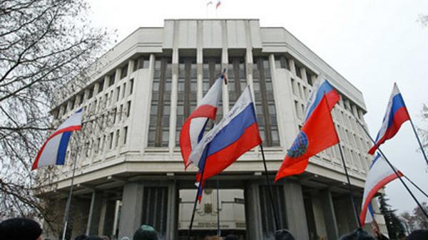 Krim u Ukrajini - ruske zastave