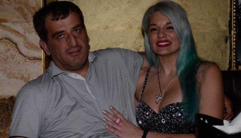 Ljubiša Buha Čume i njegova supruga Ivana