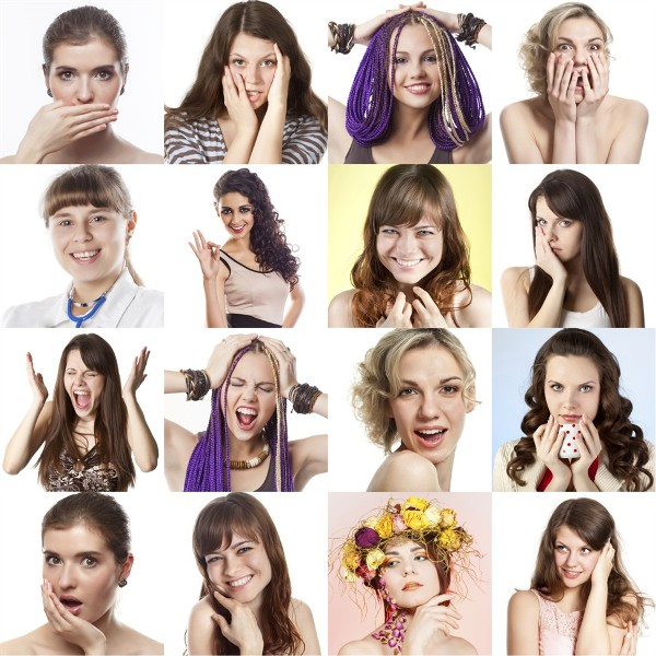 lica žene