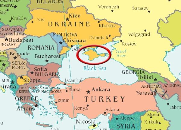 krim mapa Ukrajina proglasila Krim 'privremeno okupiranom teritorijom  krim mapa