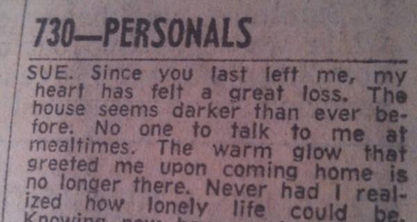 oglas iz 1973.