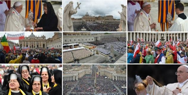 Kanonizacija u Vatikanu/Foto: AFP