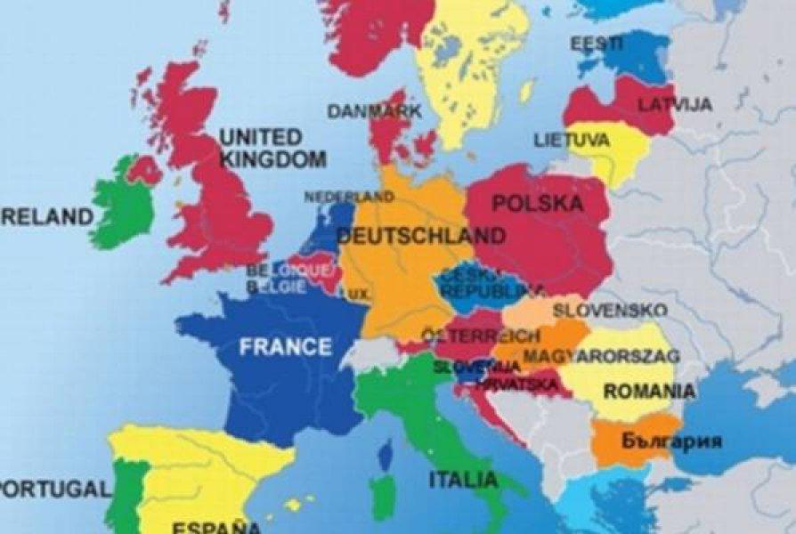 karta evrope belgija Kontroverzna predviđanja ruskih stručnjaka: Evo kako će Evropa i  karta evrope belgija