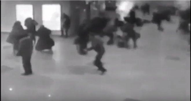 Uznemirujući snimak: Zabilježen stravičan trenutak eksplozije na briselskom aerodromu