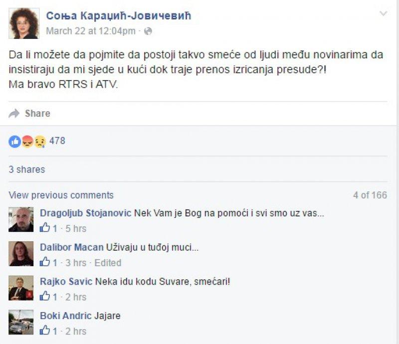 sonja-karadzic-status