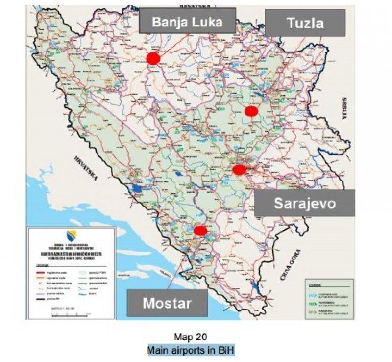 mapa-glavnih-aerodroma-u-bih