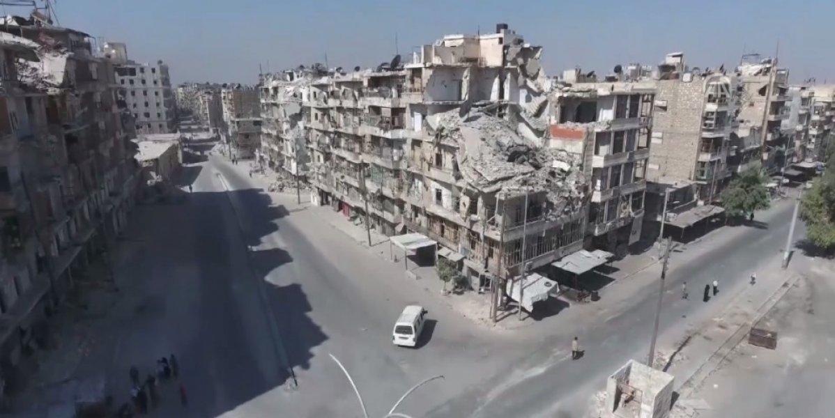 Jezivi snimci iz zraka: Nekada razvijeni Halep danas izgeda ovako... Pretvore...