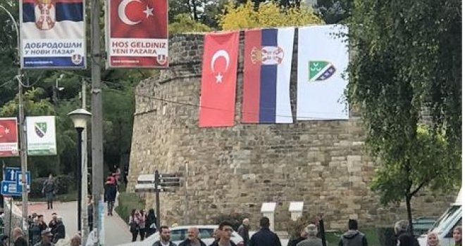 Резултат слика за novi pazar dolazak erdogana