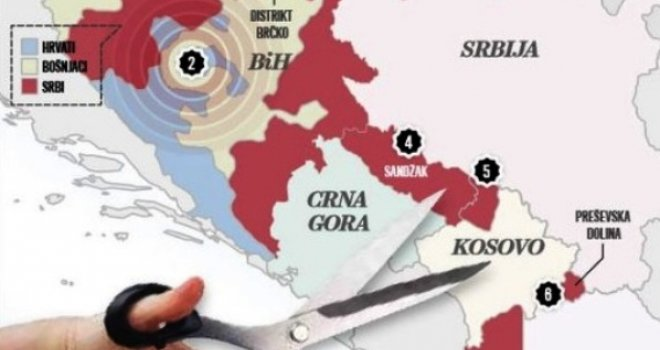 Pandorina Kutija Se Otvara Dio Kosova Pripast Ce Srbiji Dio Srbije