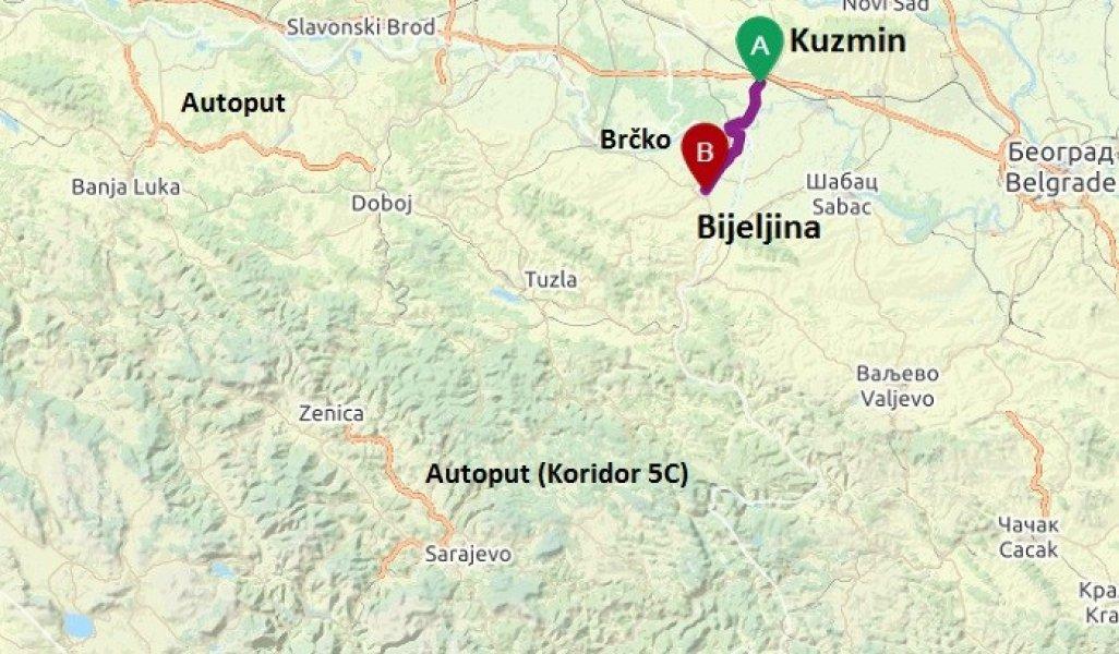 Kuda Ide Autoput Bijeljina Kuzmin I Sta Ce Znaciti Za Bih Depo