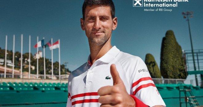 Novak Đoković odabrao svoju banku i postao ambasador brenda za Raiffeisen Bank International