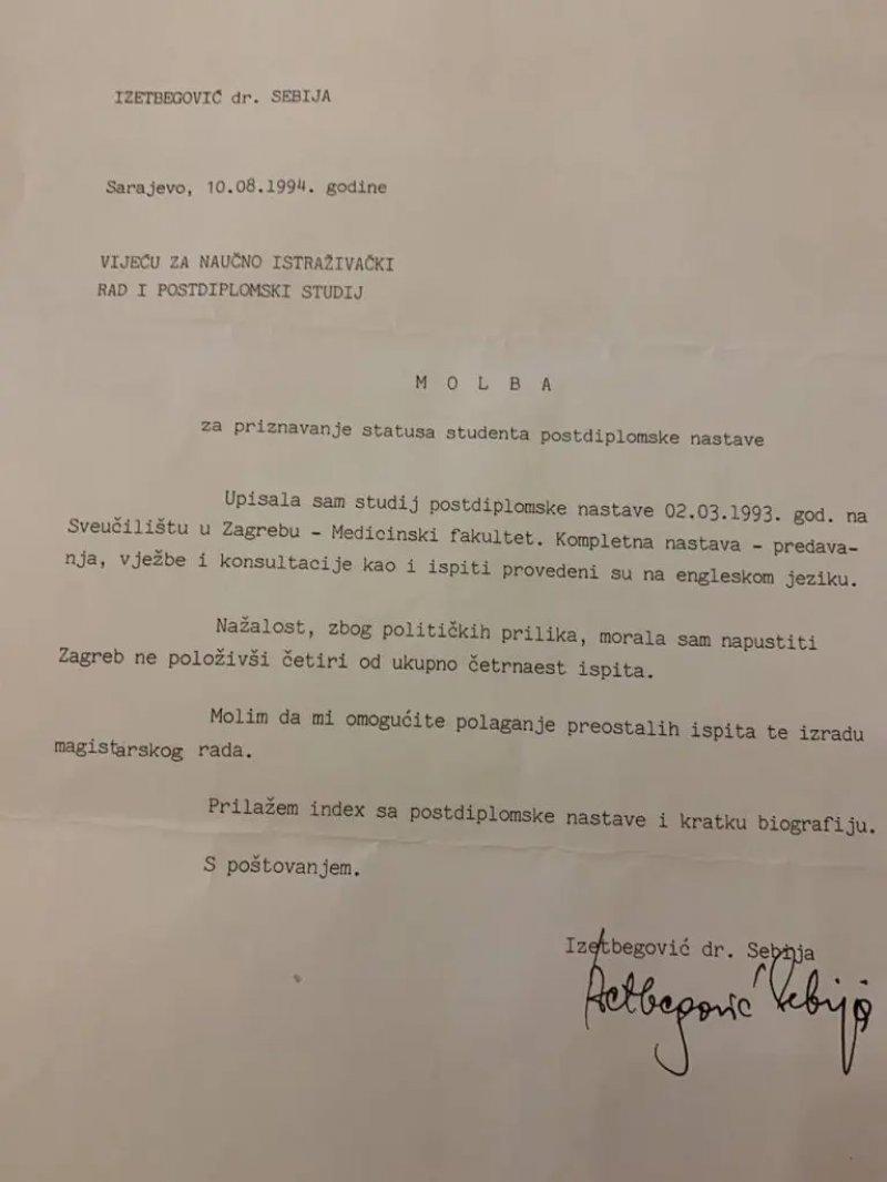 molba-sebija-izetbegovic-fakultet1
