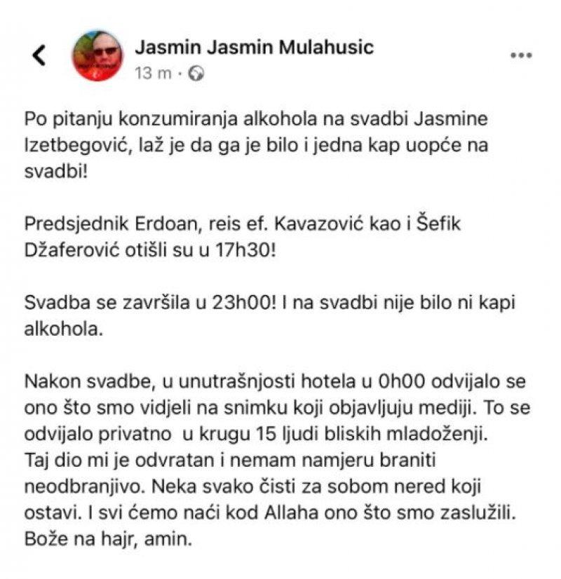 jasmin-mulahusic-status-svadba-alkohol
